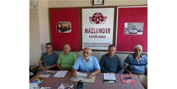 Mazlumder Genel Başkan Yardımcısı Ahmet Taş