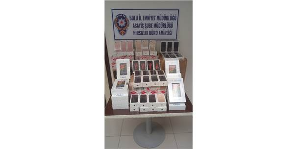 İstanbul'dan Çalınan Telefonlar Bolu'da Yakalandı