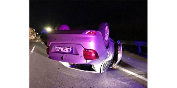 Çorum''da Trafik Kazası : 2 Yaralı