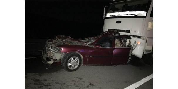 Ak Parti Şuhut İlçe Gençlik Kolları Başkanı Trafik Kazası Geçirdi