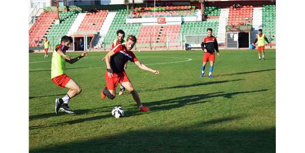 Lüleburgazspor, Sultangazispor Maçı Hazırlıkları Tamamlandı