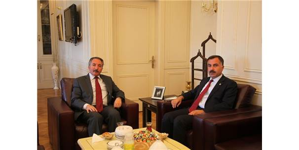 İl Başkanı Aydın, Rektör Karabulut'u Ziyaret Etti