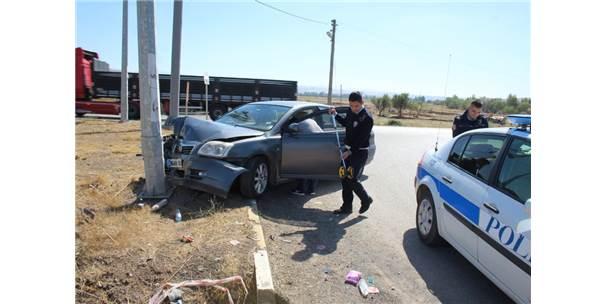 Sivas'ta Trafik Kazası 4 Yaralı.