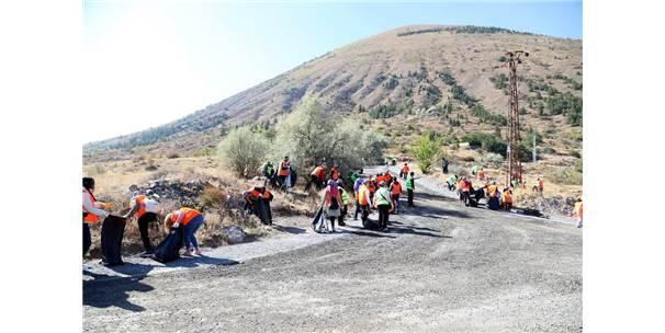Ali Dağı Çöplerden Temizlendi
