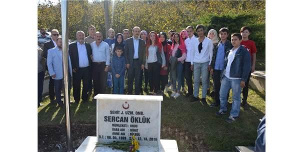 Şehit Sercan Öklük Baba Ocağında Anıldı