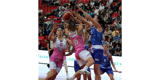 Bilyoner.Com Kadınlar Basketbol Ligi: Abdullah Gül Üniversitesi: 82 - Bornova Beckerspor: 48
