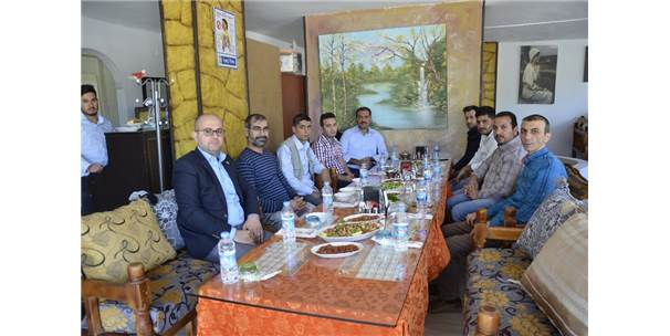 Şanlıurfa'da Sağlık-Sen'in Yeni Yönetimi Basınla Buluştu