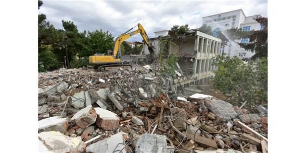 Dsi 92. Şube Müdürlüğü  Eski Hizmet Binası Yıkıldı