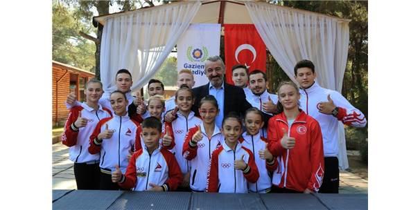 Gaziemir'de 4. Uluslararası Cimnastik Turnuvası Başlıyor