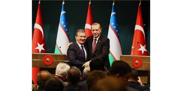 Türkiye-Özbekistan Arasında 20 Yıl Aradan Sonra 22 Anlaşma