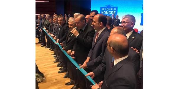 Cumhurbaşkanı Erdoğan Selçuklu Kongre Merkezini Açtı