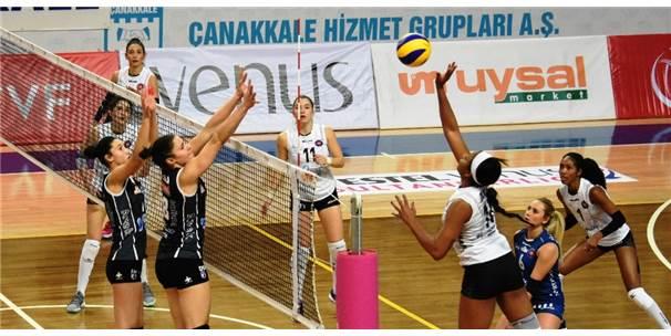 Vestel Venüs Sultanlar Ligi: Çanakkale Belediyespor: 1 - Halkbank: 3