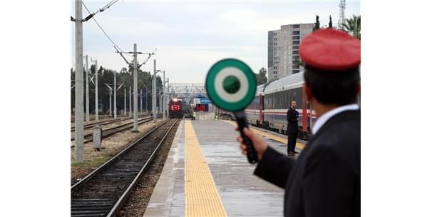 Bakü-Tiflis-Kars Demiryolu'nda İlk Tren Mersin'e Hesaplanandan 10 Saat Erken Ulaştı