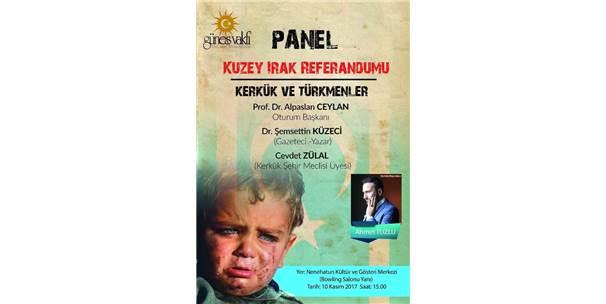 """Erzurum'da """"Kerkük Ve Türkmenler"""" Paneli"""