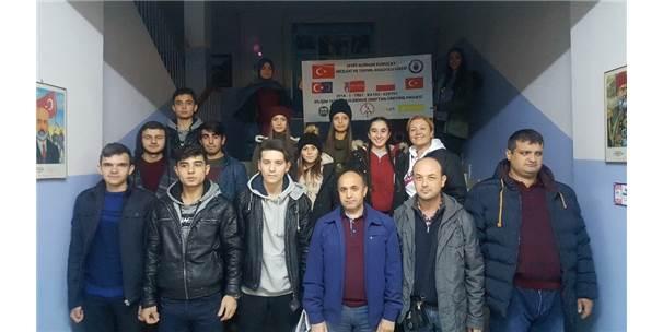 """Çankırılı Öğrenciler Polonya'da """"İşletmede Mesleki Eğitim Çalışması"""" Yapacak"""