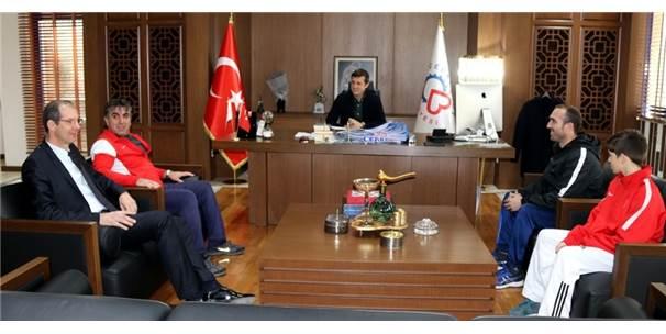 Milli Sporcu Alperen Ayaz,  Çerkezköy'ü Balkan Şampiyonası'nda Temsil Edecek