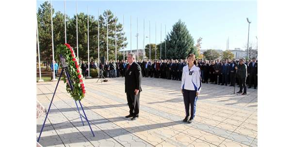 Gaün'de Atatürk'ü Anma Töreni