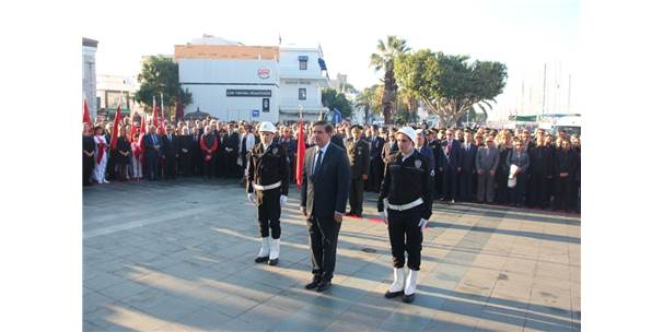 Bodrum'da 10 Kasım Atatürk'ü Anma Günü Etkinlikleri