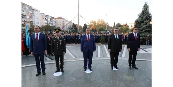 Ebediyete İntikalinin 79'Uncu Yılında Atatürk Saygıyla Anıldı