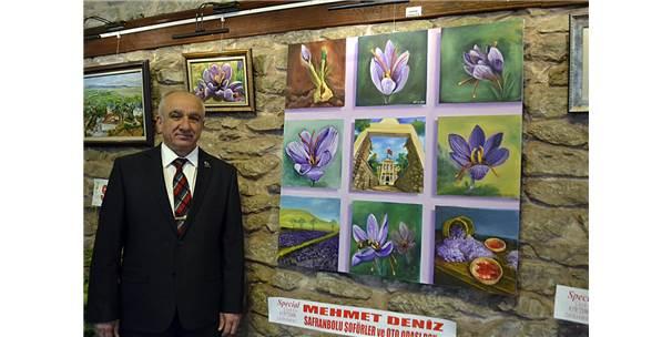 Karabük'te Safran Hasadı Etkinliği