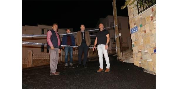 Bodrum'da Çalışmalar Gece Gündüz Sürüyor