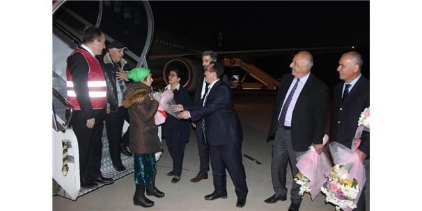 Ahıska Türklerinin Son Kafilesi Erzincan'a Geldi