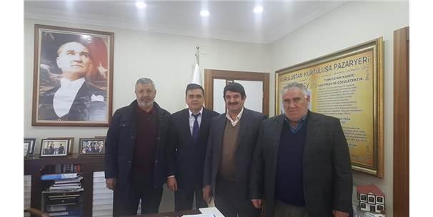Ulaştırma Denizcilik Ve Haberleşme Bakanı Ahmet Aslan'ın Kardeşinden Pazaryeri'ne Ziyaret