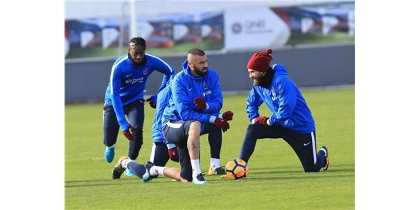 Trabzonspor, Kasımpaşa Maçının Hazırlıklarını Sürdürdü