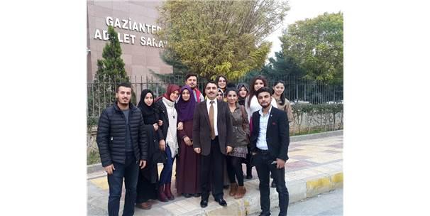 Oğuzeli Myo Öğrencilerinden Adliye Sarayı Gezisi