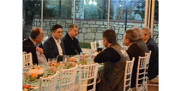 Avcılardan Başkan Acar'a Av Yemeği
