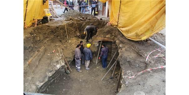 İskilip'te Bulunan Tarihi Yapıda Tespit Kazı Çalışmaları Tamamlandı