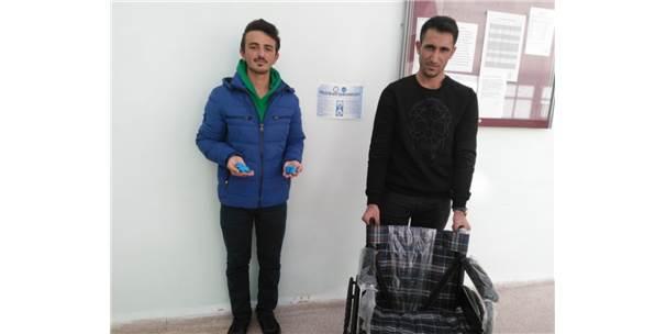 Mavi Kapaklar, Engelliler İçin Tekerlekli Sandalye Oldu