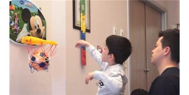 Doğuştan Serebral Palsi Hastası Olan Çocuk 7 Yaşında İlk Adımını Attı