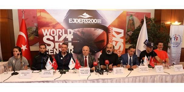 """Başkan Sekmen: """"Erzurum Kış Sporlarında Avrupa'nın Merkezi Oldu"""""""