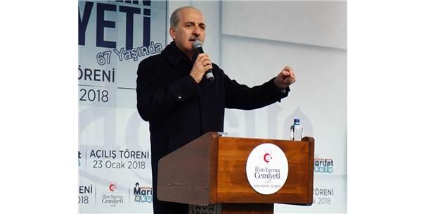 """Kurtulmuş: """"İslam Ümmetinin Ümidi Olan Türkiye'nin Güçlü Olmasını İstemiyorlar"""""""