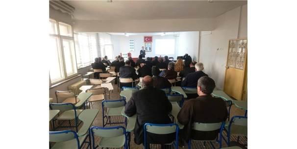 Arapgir'de Tarım Sigortaları Bilgilendirme Toplantısı Yapıldı