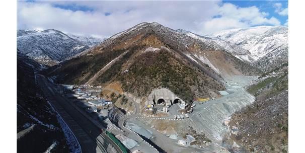Yeni Zigana Tüneli İnşaatında Yüzde 41 Seviyesine Ulaşıldı