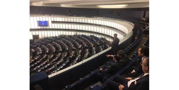 Türkiye-Ab Karma Parlamento Komisyonu Başkanlık Divanı Avrupa Parlamentosu'nu Ziyaret Etti