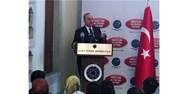 """Bakan Çavuşoğlu: """"Bu Teröristleri Sınırımızda Temizlemezsek, Yarın Türkiye'nin Başına Bela Olur"""""""