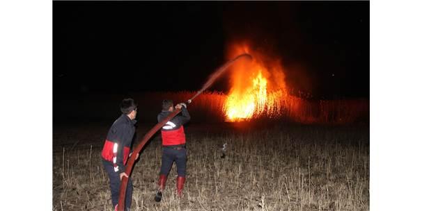 Muradiye'de Sazlık Yangını