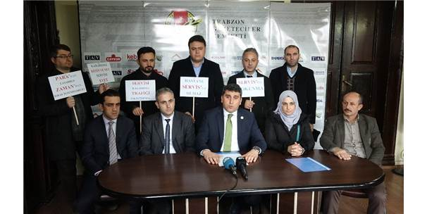 Trabzon'da Hastane Çalışanları Servis İstiyor