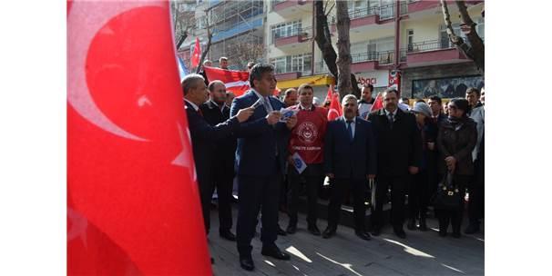 Türkiye Kamu Sen'den Mehmetçiğe Destek