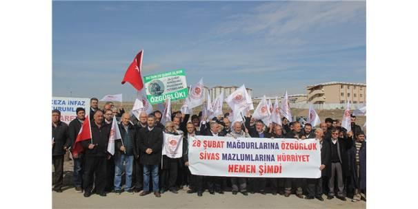 28 Şubat Ve Madımak Mağdurları İçin Özgürlük İstediler