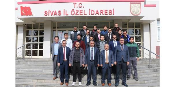 """""""Futbol Okulu Projesi"""" Sivas'ta Hayat Bulacak"""
