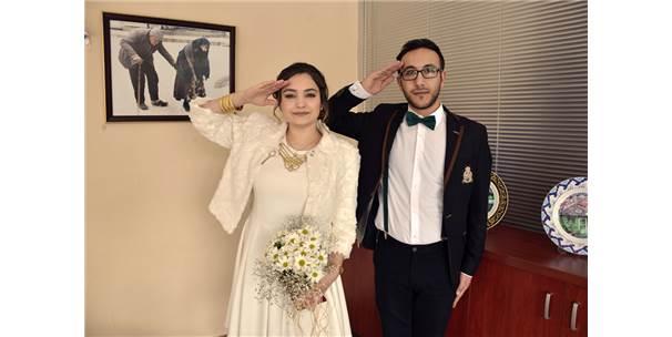 14 Şubat'ta Mehmetçik İçin Selam Durdular