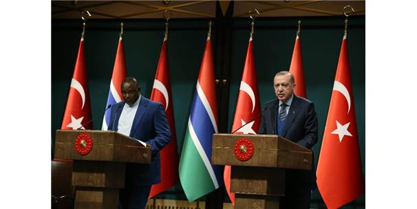 Erdoğan-Barrow Ortak Basın Toplantısı
