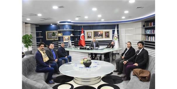 E-İhracat Sektörü Yöneticilerinden Ziyaret