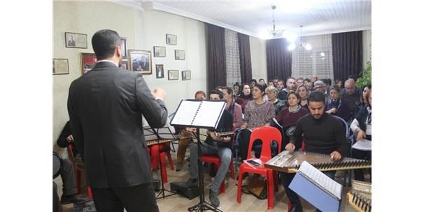 Van Türk Musiki Derneğinden 25. Yıl Konseri Hazırlığı