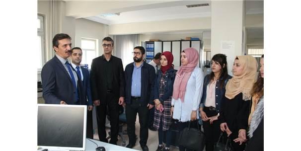 Şırnak Üniversitesi Öğrencileri Defterdarlığı Gezdi