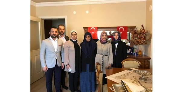 Avukatlardan Şehit Annesine Ziyaret